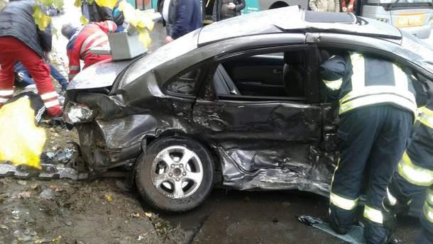 Смертельна аварія у Запоріжжі