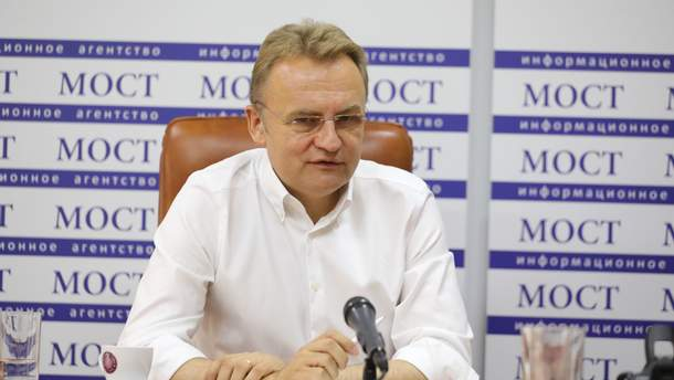 Андрій Садовий, місьсий голова Львова