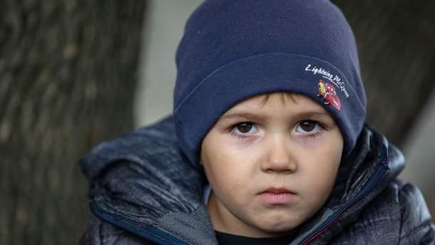 4-річний Жора живе в селищі Золоте-4