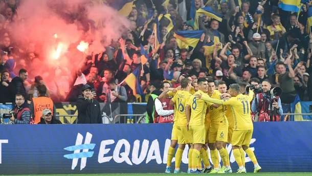 Украина забила уже два гола Португалии: видео