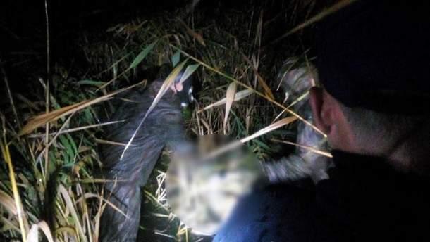 Убийца нанес жертве несколько ударов ножом в шею