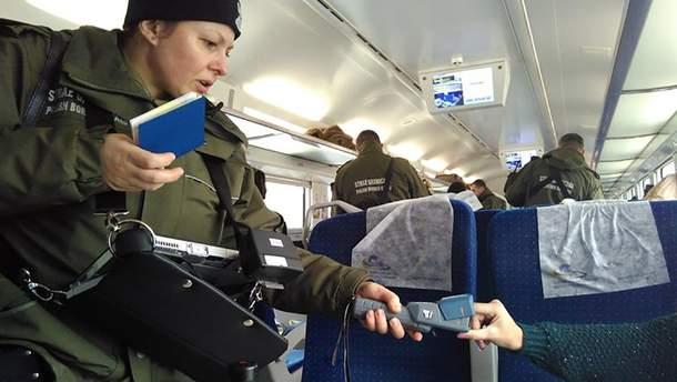 Украинские пограничники задержали россиянку