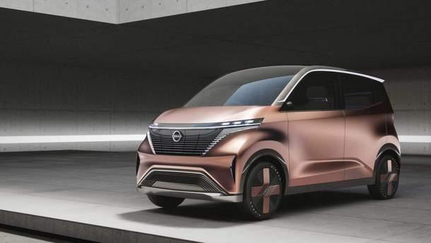 Концепт электрокара Nissan IMk