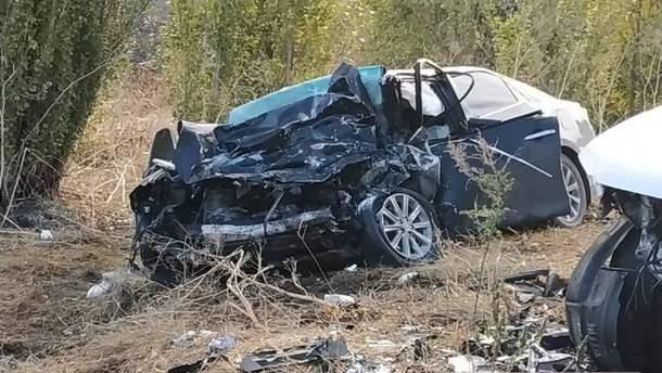 ДТП під Миколаєвом – загинули керівники поліції: фото 08.10.2019