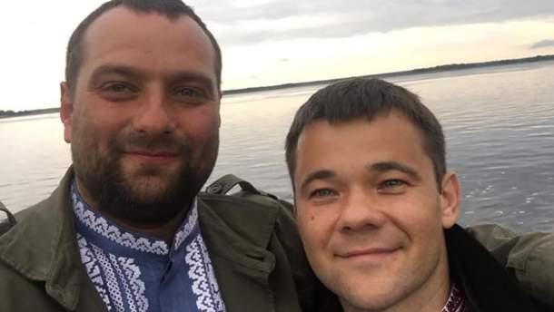 Андрей Вавриш и Андрей Богдан дружат давно