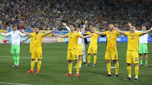 Сборная Украины проведет открытую тренировку в Харькове