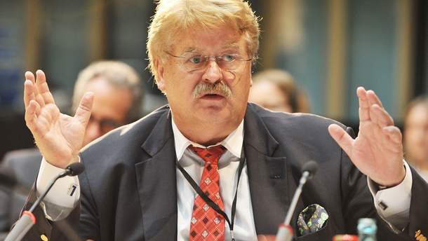 Спецсоветник президента Еврокомиссии по вопросам отношений с Украиной Эльмар Брок