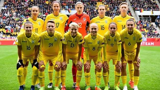 Женская сборная Украины по футболу