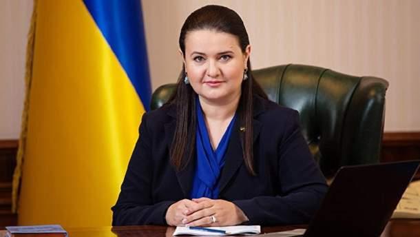 НАПК установило в декларации Маркаровой недостоверности на 415 тысяч гривен