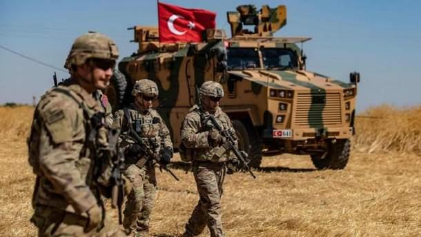 Первая группа турецких военных пересекла сирийскую границу