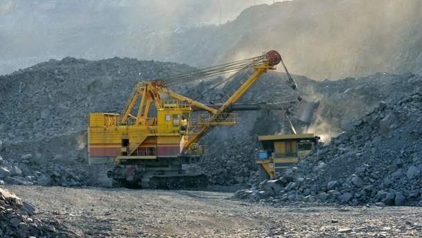 Добыча железной руды