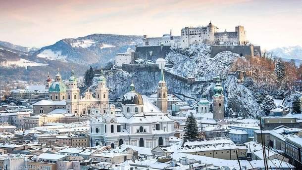 В январе из Киева можно будет улететь в Зальцбург
