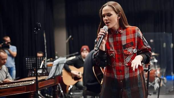 Юлія Саніна з гурту The Hardkiss
