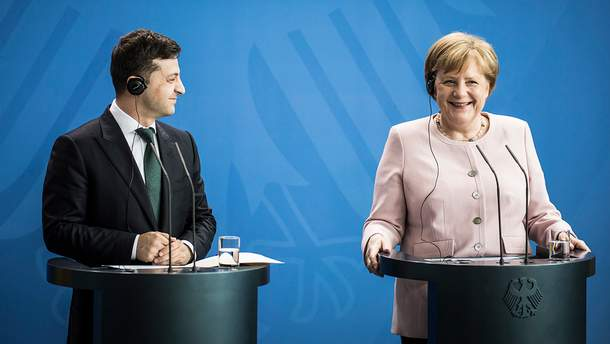 Зеленський порозмовляв з Меркель: що обговорили