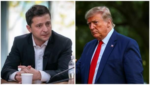 Зеленський прокоментував розмову з Трампом