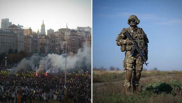 """Головні новини 14 жовтня: нова хвиля протестів """"Ні капітуляції"""" та День захисника України"""