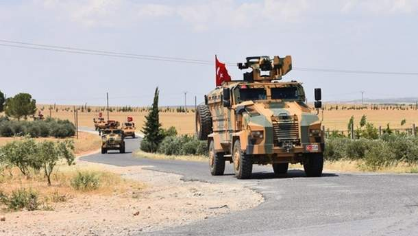 Турецкие войска установили контроль за центром сирийского города Рас-эль-Айн