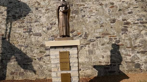 Памятник Анне Ярославне в Бельгии