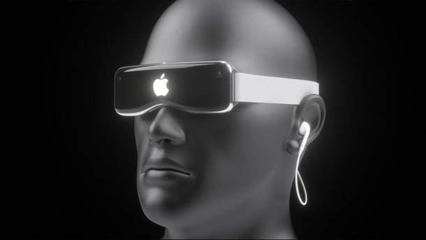 Концепт VR-окулярів Apple