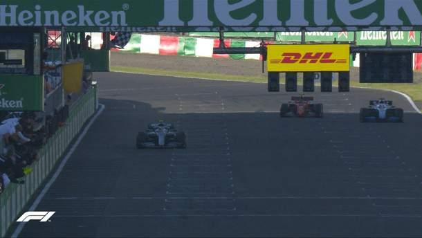 Боттас выиграл гран-при Японии, Mercedes завоевал Кубок конструкторов в 2019 году