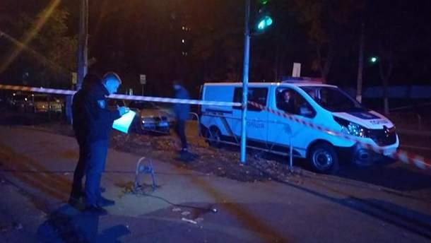 В Киеве прямо на улице застрелили мужчину: полиция ввела план-перехват