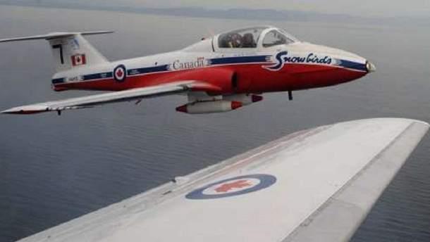 Канадский самолет CT-144 Tutor разбился в США