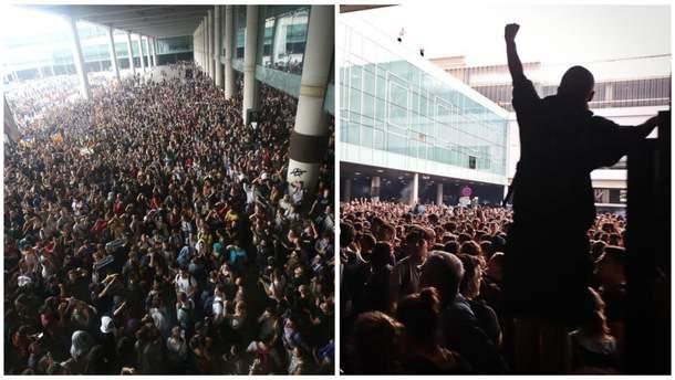 Протестs в Барселонt