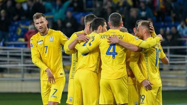 Україна – Португалія: стартові склад команд