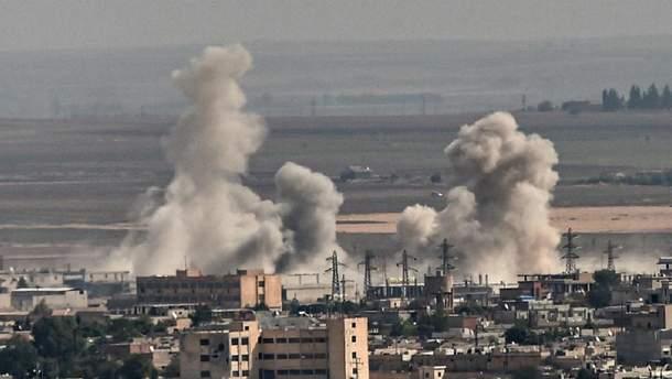 Сирийские курды обстреляли приграничные города в Турции