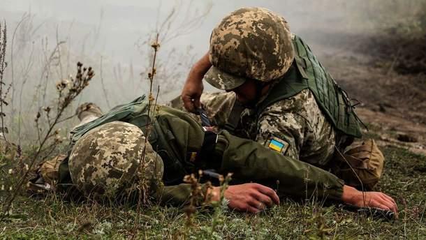 На Донбасі загинули 2 українських військових