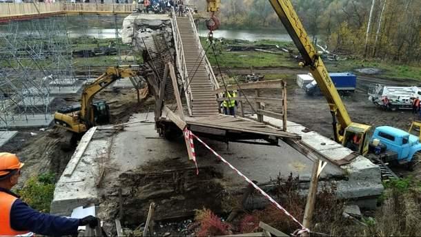 Сайдік оцінив темпи ремонту мосту в Станиці Луганській