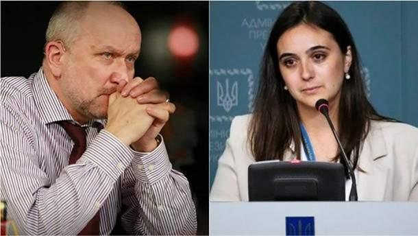 Журналіст Яневський подав до суду на прессекретарку Зеленського Мендель