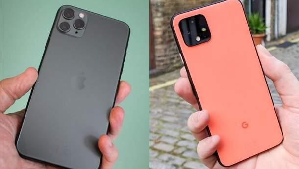 Google Pixel 4 чи iPhone 11 Pro: чия камера знімає краще