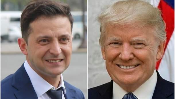 Україна не буде втручатися у процес імпічменту Трампа в США, – Зеленський