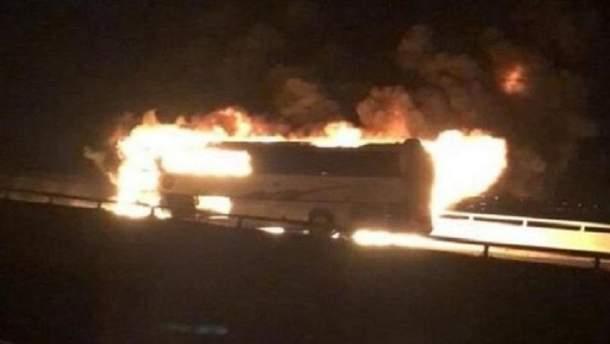 Внаслідок жахливої ДТП з пожежею автобуса у Саудівській Аравії загинули 35 осіб