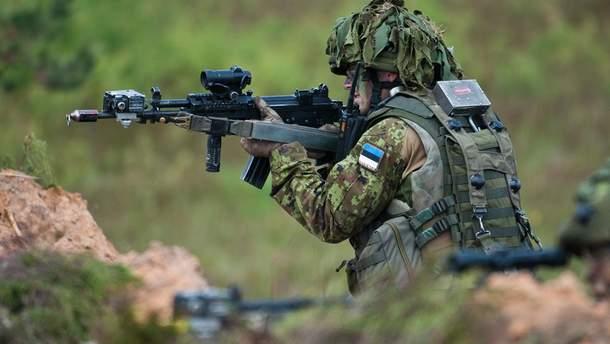 В Естонії військових-строковиків зобов'язали вивчати державну мову