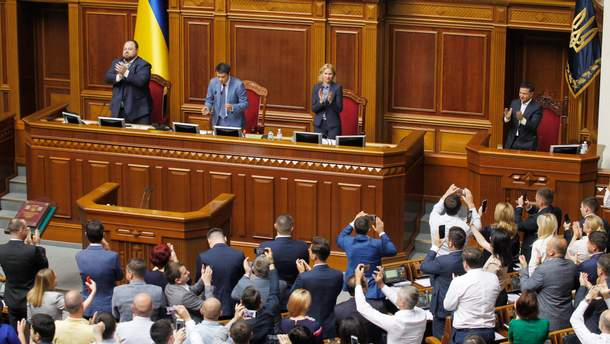 Разумков оприлюднив промовисте відео про 50 днів роботи Верховної ради