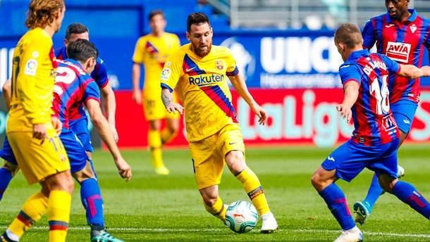 """""""Барселона"""" розбила """"Ейбар"""" і вийшла у лідери Ла Ліги: результати та відео голів 9 туру"""
