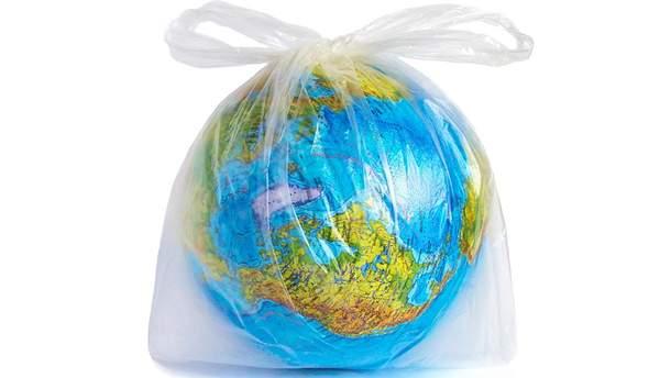 В Украине запретят пластиковые пакеты