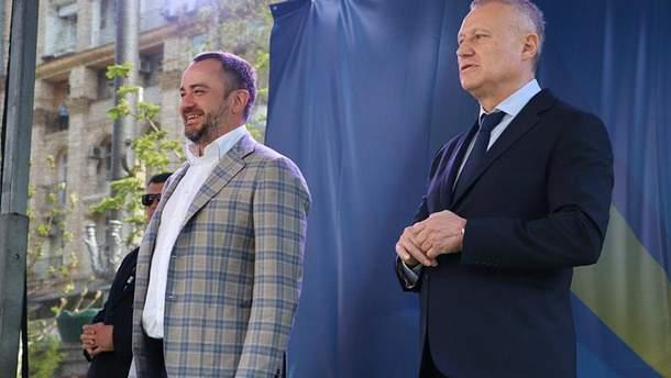 """Павелко и Суркис начали войну: в ход пошли патриотизм и """"Динамо"""""""