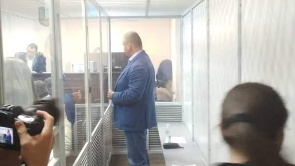 Олег Гладковський на судовому засіданні