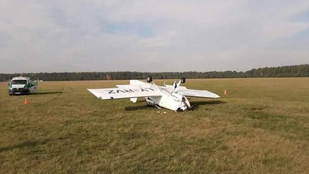 Аварія літака у Литві