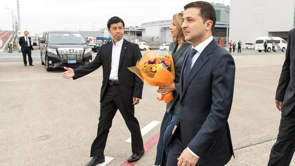 Владимир Зеленский прибыл в Японию