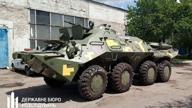 БТР должны были использовать на Донбассе