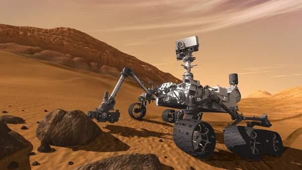 Марсоход Curiosity передал на Землю свое очередное селфи: фото