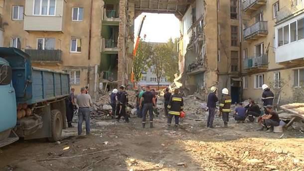 Обвал будинку у Дрогобичі – причина смертельного обвалу
