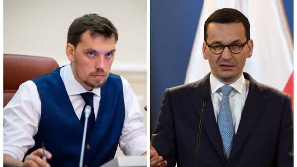 Гончарук по телефону поговорил с польским премьером Моравецким: детали разговора