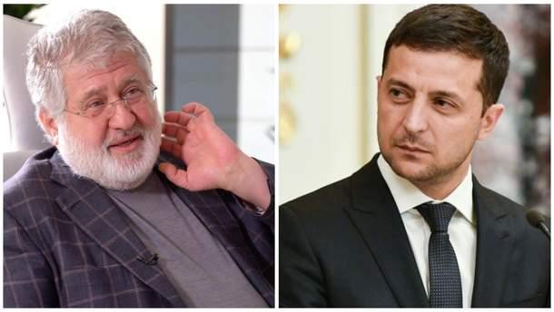 Чи є протистояння між Коломойським та Зеленським: що це означає для України