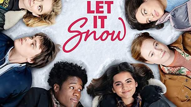 """Постер фильма """"Пусть идет снег"""""""