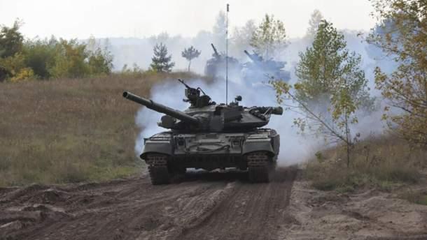 Россия держит на Донбассе тяжелое вооружение и перебрасывает новые силы